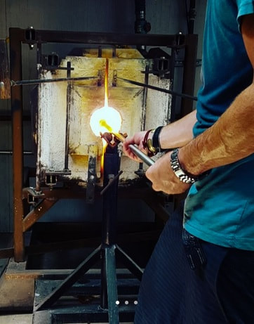 Glass Blowing in Hermosa Beach